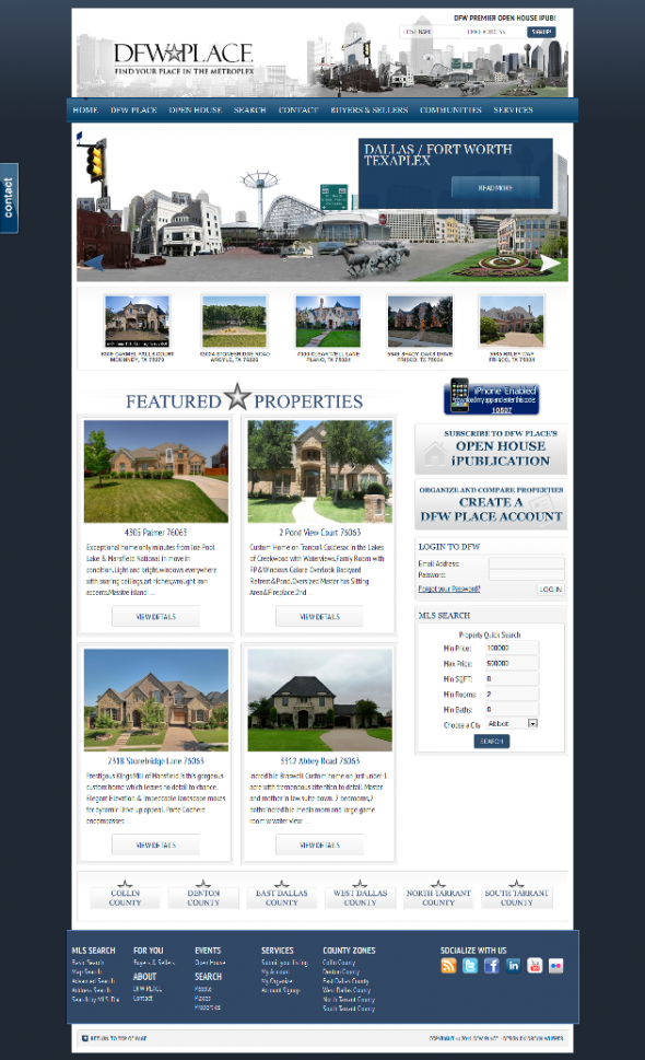 AgentPress Real Estate Design IDX Broker