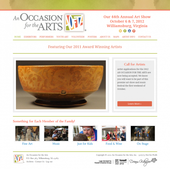 An Occasion for the Arts 590x585 An Occassion for the Arts