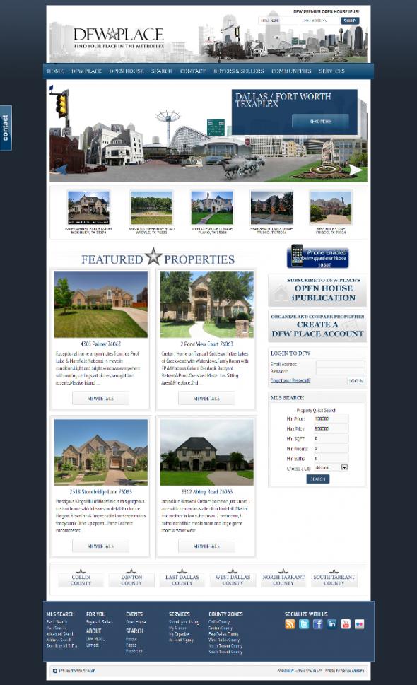 AgentPress Real Estate Design IDX Broker