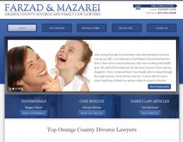 Farzad Law Custom Genesis Child Theme